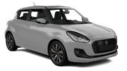 AVIS Car rental Dubai - Marina Economy car - Suzuki Swift