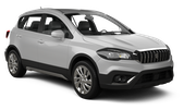 SIXT Car rental St. Lucia - La Toc Beach - Sandals Regency Suv car - Suzuki SX4