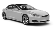 TOP Car rental Sofia - Airport - Terminal 2 Fullsize car - Tesla Model S