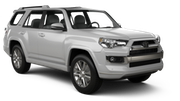 HERTZ Car rental Hilton Head Suv car - Toyota 4Runner