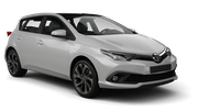VEGER Car rental Sofia - Airport - Terminal 2 Compact car - Toyota Auris
