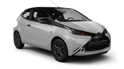 FIREFLY Car rental Durban - Airport - King Shaka Mini car - Toyota Aygo