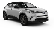 THRIFTY Car rental Geneva - Airport Suv car - Toyota C-HR