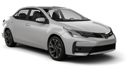 TOP RENT  Car rental Jurmala Standard car - Toyota Corolla