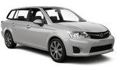 HERTZ Car rental Trou D'eau Douce - Hotel Bougainville Standard car - Toyota Corolla Estate