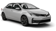 BUDGET Car rental Christchurch - Airport Compact car - Toyota Corolla Hybrid