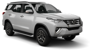HERTZ Car rental Durban - Airport - King Shaka Suv car - Toyota Fortuner