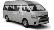 ENTERPRISE Car rental Sydney Airport - International Terminal Van car - Toyota Hiace