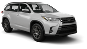 ABELL Car rental Christchurch - Airport Suv car - Toyota Highlander