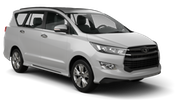 DOLLAR Car rental Dubai - Al Quoz Van car - Toyota Innova