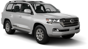 BUDGET Car rental Reykjavik - Keflavik International Airport Suv car - Toyota Land Cruiser