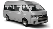 GREEN MOTION Car rental San Jose - Crowne Plaza Van car - Toyota Minibus