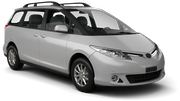 HERTZ Car rental Blenheim Van car - Toyota Previa