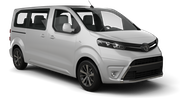 AVIS Car rental Riga - Downtown Van car - Toyota Proace
