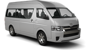TEMPEST Car rental Durban - Airport - King Shaka Van car - Toyota Quantum