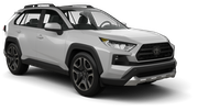 HERTZ Car rental Chatham Suv car - Toyota Rav4