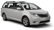 ENTERPRISE Car rental Tampa - Airport Van car - Toyota Sienna