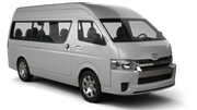 NATIONAL Car rental Pattaya Downtown Van car - Toyota Ventury