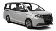 DRIVE A MATIC Car rental Barbados - Hilton Barbados Resort Van car - Toyota Voxy
