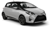BUDGET Car rental Barrie Economy car - Toyota Yaris