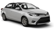 DOLLAR Car rental Dubai - Jebel Ali Free Zone Economy car - Toyota Yaris Sedan