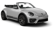 ALAMO Car rental Diamond Bar Convertible car - Volkswagen Beetle Convertible