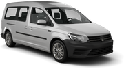 EUROPCAR Car rental Reykjavik - Port Van car - Volkswagen Caddy