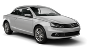 GREEN MOTION Car rental Sofia - Airport - Terminal 2 Convertible car - Volkswagen Eos Convertible