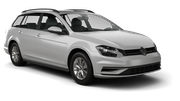 EUROPCAR Car rental Jurmala Standard car - Volkswagen Golf Estate