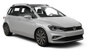 EUROPCAR Car rental Saint Etienne Van car - Volkswagen Golf Sportsvan