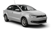 TEMPEST Car rental Durban - Airport - King Shaka Compact car - Volkswagen Polo Sedan