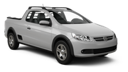 MOVIDA Car rental Sao Paulo - Congonhas - Airport Suv car - Volkswagen Saveiro Pickup
