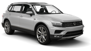 ALAMO Car rental Copenhagen - International Airport - Kastrup Suv car - Volkswagen Tiguan