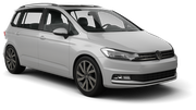 SIXT Car rental Sicily - Catania Airport - Fontanarossa Van car - Volkswagen Touran
