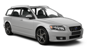EUROPCAR Car rental Amsterdam - Airport - Schiphol Standard car - Volvo V50 Estate